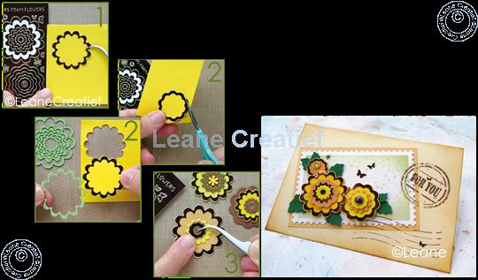 Image sur Stickers des  fleurs mirror brown
