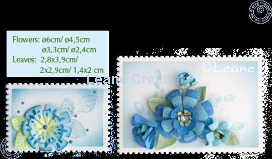 Afbeelding van Set Multi Die & Clearstamp Fantasy Flower