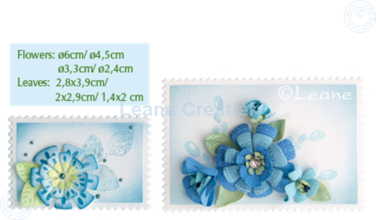 Image sur Set Multi Die & Clearstamp Fantasy Flower
