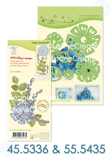 Bild von Set Multi Die & Clearstamp Fantasy Flower