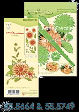 Bild von Multi die & Clear Stamp Chrysanthemum
