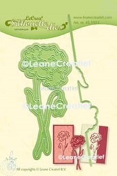 Image de Lea'bilitie® Coquelicot silhouette matrice pour découper & embossing
