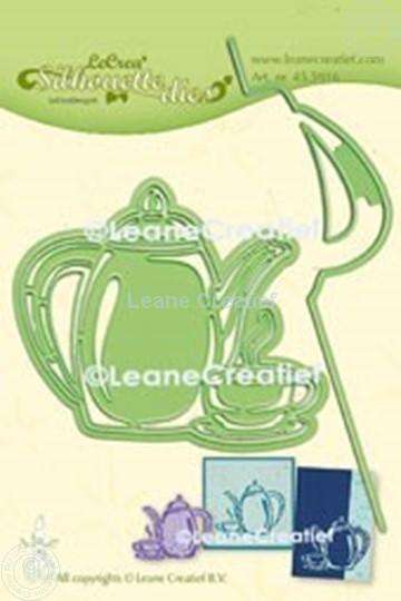 Image sur Lea'bilitie® Heure du café silhouette matrice pour découper & embossing