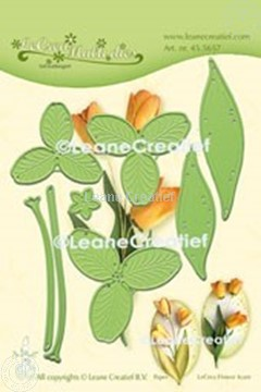 Afbeeldingen van Multi die Flower 017 Tulp 3D snij- en embossing mal