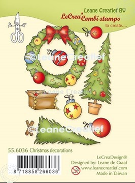 Image de LeCreaDesign® combi tampon clair Decorations de Noël