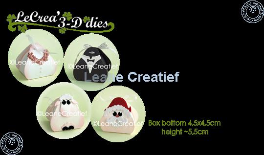 Afbeelding van Lea'bilitie® Doosje voor Baby, Huwelijk, Kerst snij en embossing mal