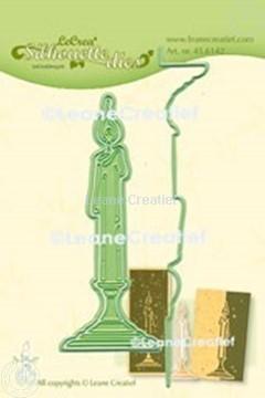 Image de Lea'bilitie® Chandelier silhouette matrice pour découper & gaufrage