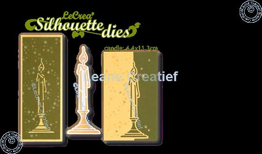 Image sur Lea'bilitie® Chandelier silhouette matrice pour découper & gaufrage