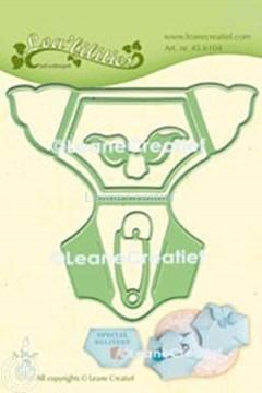Image de Lea'bilitie® Baby couche matrice pour découper & gaufrage