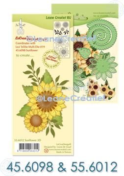 Image de SET: Multi die & Clear stamp Tournesol