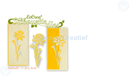 Picture of Lea'bilitie® Silhouette die Daffodil cut and embossing die