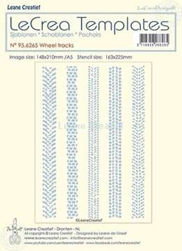 Picture of Stencil Wheel tracks