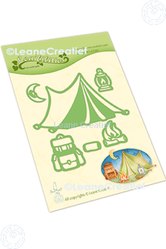 Picture of Lea'bilitie® Camping cut and embossing die