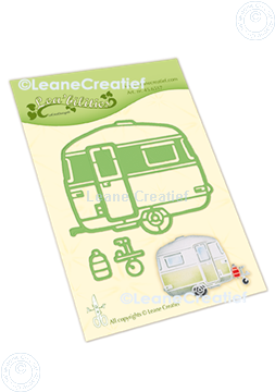 Picture of Lea'bilitie® Caravan cut and embossing die