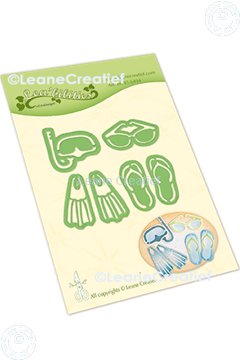 Picture of Lea'bilitie® Summer beach items  cut and embossing die