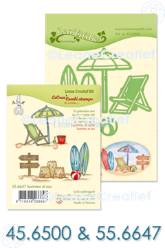 Image de Set Lea'bilitie & Clearstamp Summer at sea