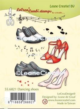 Image de LeCreaDesign® tampon clair à combiner Chaussures de danser