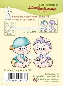 Image de LeCreaDesign® tampon clair à combiner Baby garçon et fille