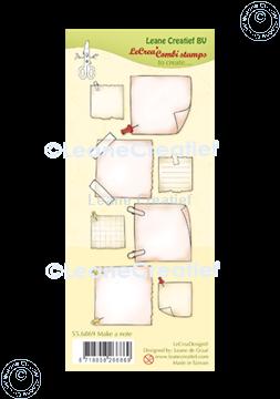 Image de LeCreaDesign® tampon clair à combiner Mak a note