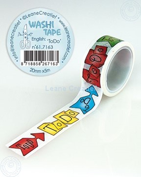 Picture of Washi tape To Do, 20mm x 5m.