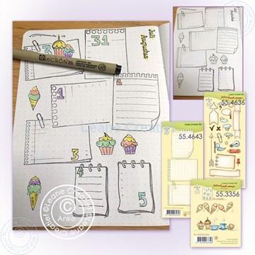 Afbeeldingen van BJ notebook PL stamp