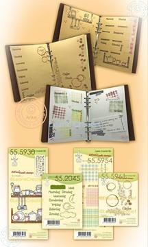 Afbeeldingen van BJ Coffee Service combi stamp