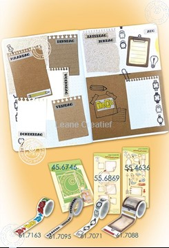 Image de BJ Notebook die + stamp