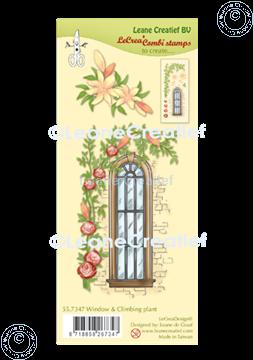 Image de LeCreaDesign® tampon clair à combiner Fenêtre avec plante grimpante