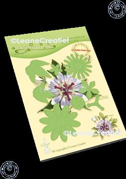 Image de Lea'bilitie® Multi die 021 Fleur de la passion matrice pour découper & gaufrage
