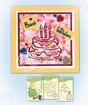 Bild von Silhouette Birthdaycake