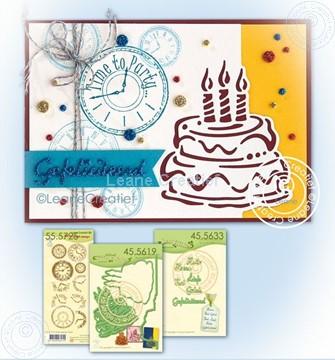 Bild von Birthday cake: time to celebrate