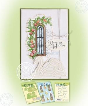 Bild von Swans & decoration sheet