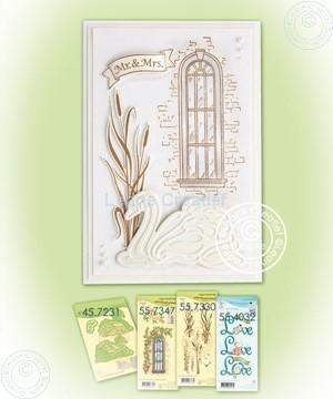 Afbeeldingen van Combi stamp Swans