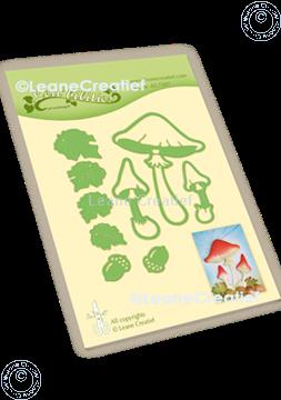 Bild von Lea'bilitie® Herbst - Pilze Präge- und Schneideschablone