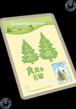 Afbeeldingen van Lea'bilitie® Kerstbomen snij en embossing mal