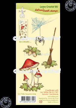 Afbeeldingen van LeCreaDesign® combi clear stamp Herfst